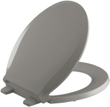 KOHLER K-4639-K4 Cachet Quiet-Close with Grip-Tight Bumpers Round-front Toilet S - $50.95