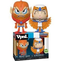 Funko Master of the Universe Sorceress and Beastman VYNL 2-Pack Emerald ... - $18.49