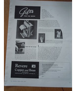 Vintage Revere Gifts For The Bride Print Magazine Advertisements 1937 - $4.99