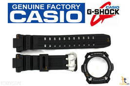 Casio G-Shock G-1100B Original Black Rubber Band & Bezel Combo G-1500 G-1500B - $38.65