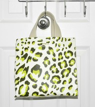 Furla Divide It Small Tote Bag Leopard Print Leather Made In Italy pick ... - $165.00