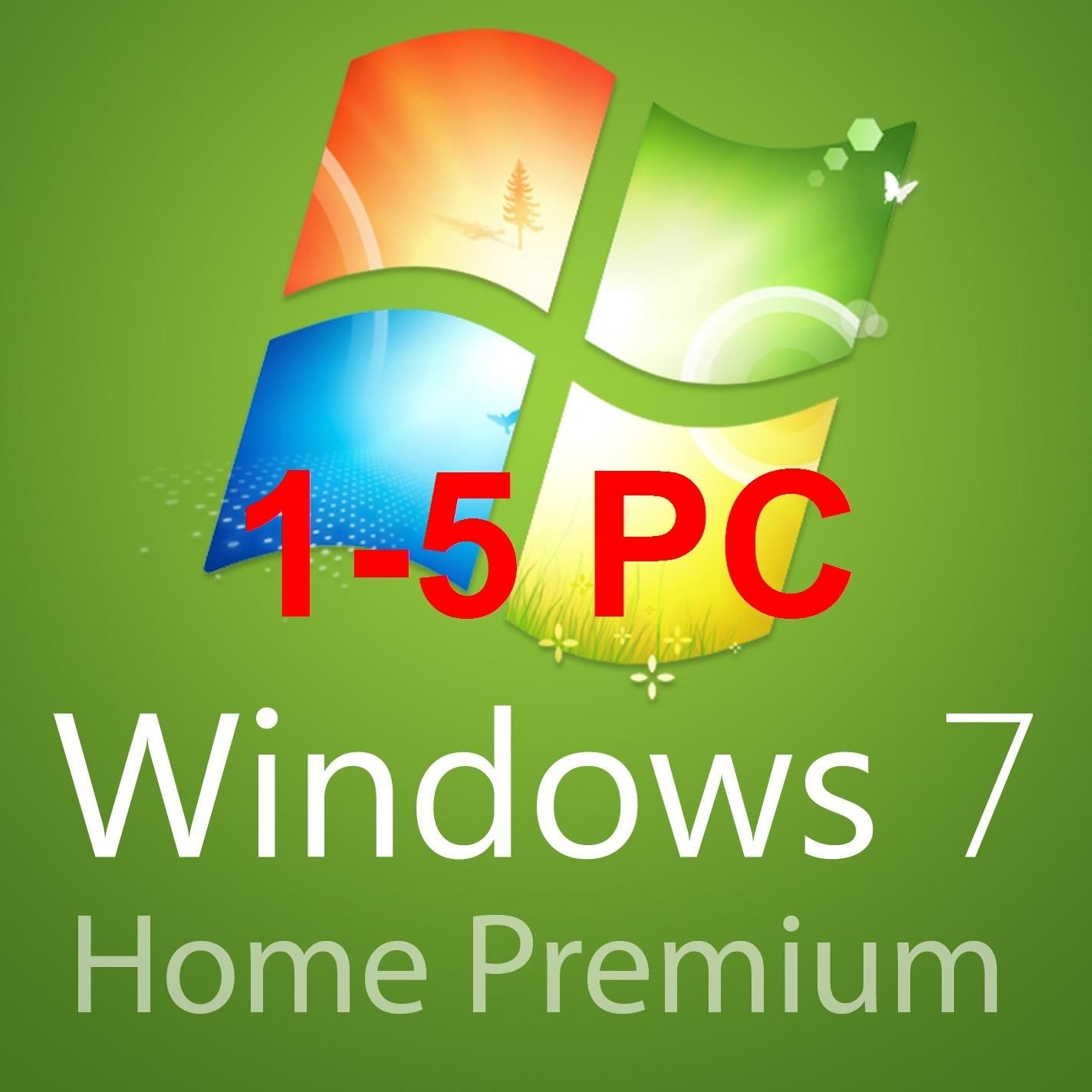 1-5pc Windows 7 home premium 32/64 BITS- OEM and 50 similar items
