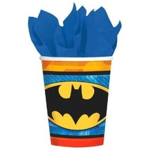 Batman Birthday Party 9 oz 8 ct Hot Cold Cups - $3.99