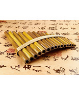 Woodwind Pan Flute Professional Beginner Student Flute 15 Pipes Handmade... - $35.14