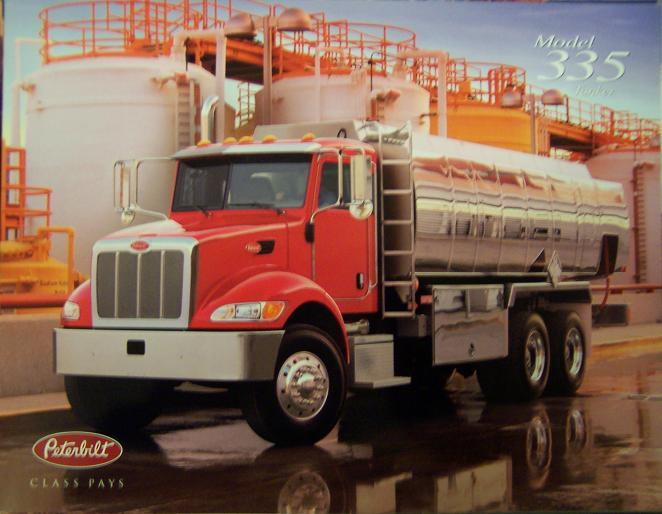 2004 Peterbilt 335 Tanker Straight Truck Brochure - Color