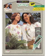 Terrific Tropicals Colorpoint Paintstitching Number 93224 - $2.00