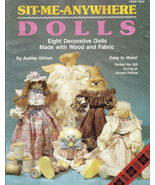 Sit Me Anywhere Dolls Eight Decorative Dolls to Make - $5.00