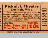 Corinth mi pickwick ticket 10 cents single thumb155 crop