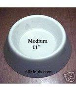 Medium Dog Bowl concrete cement mold - $22.00