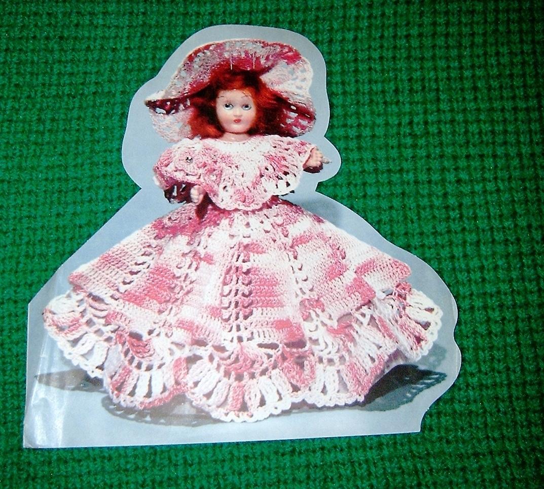 Bride & Bridesmaid California Doll Crochet Patterns