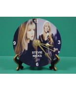 Stevie Nicks Fleetwood Mac Photo Designer Collectible GIFT Clock 01  - $14.95