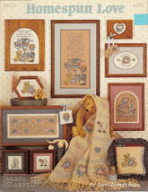 Homespun Love Cross Stitch Lynn Waters Busa Book 31 - $4.50