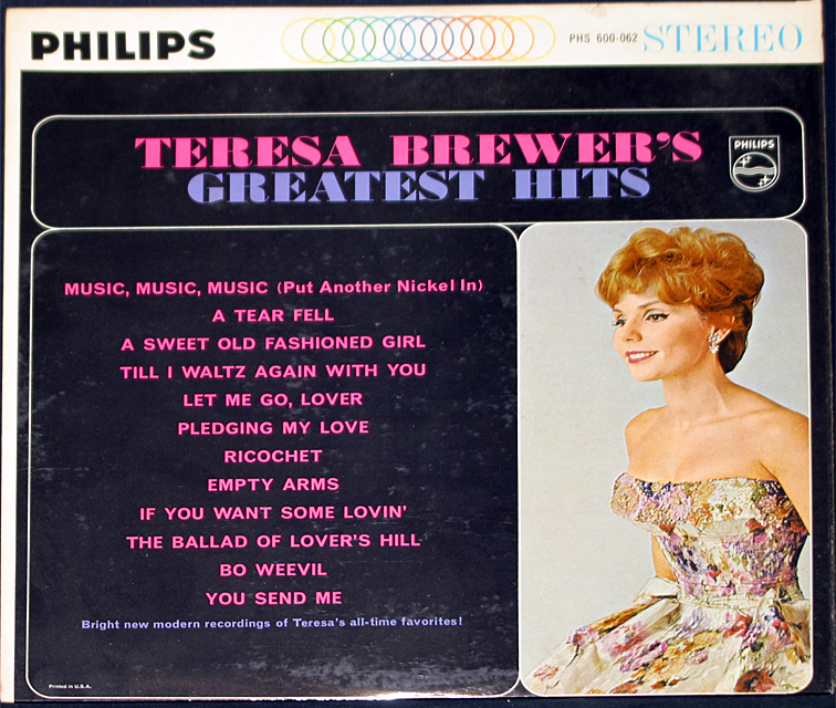 Teresa brewer greatest hits cover