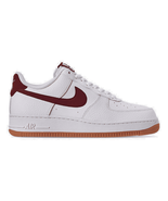 Men's Nike Air Force 1 '07 Casual Shoes White/Team Red/Blue Void/Gum Med... - $129.41