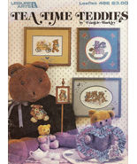 Tea Time Teddies Cross Stitch Frankie Buckley No 486 - $3.50