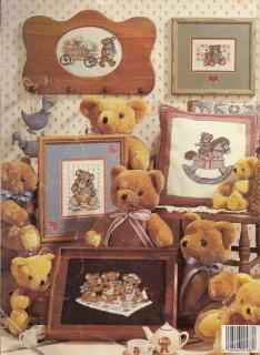 Tea Time Teddies Cross Stitch Frankie Buckley No 486