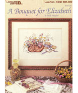 A Bouquet for Elizabeth Paula Vaughan Cross Stitch No 492 - $4.50