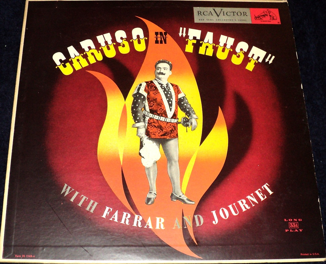 "CARUSO IN ""FAUST"" WITH FARRAR AND JOURNET LP"