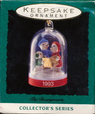 "Primary image for Hallmark ""The Bearymores"" 1993 Ornament in Original Box"