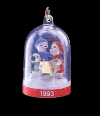 "Hallmark ""The Bearymores"" 1993 Ornament in Original Box image 2"