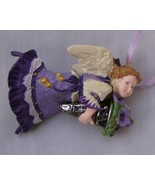 Hallmark Language of Flowers Purple Pansy Angel No. 1 in Series  - $3.99