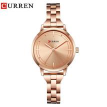CURREN 9019 Watch Women Casual Fashion Quartz Wristwatches Creative Design - $35.31