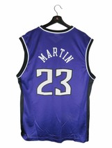 Reebok Kevin Martin Sacramento Kings Replica NBA Jersey (Large) - $19.79