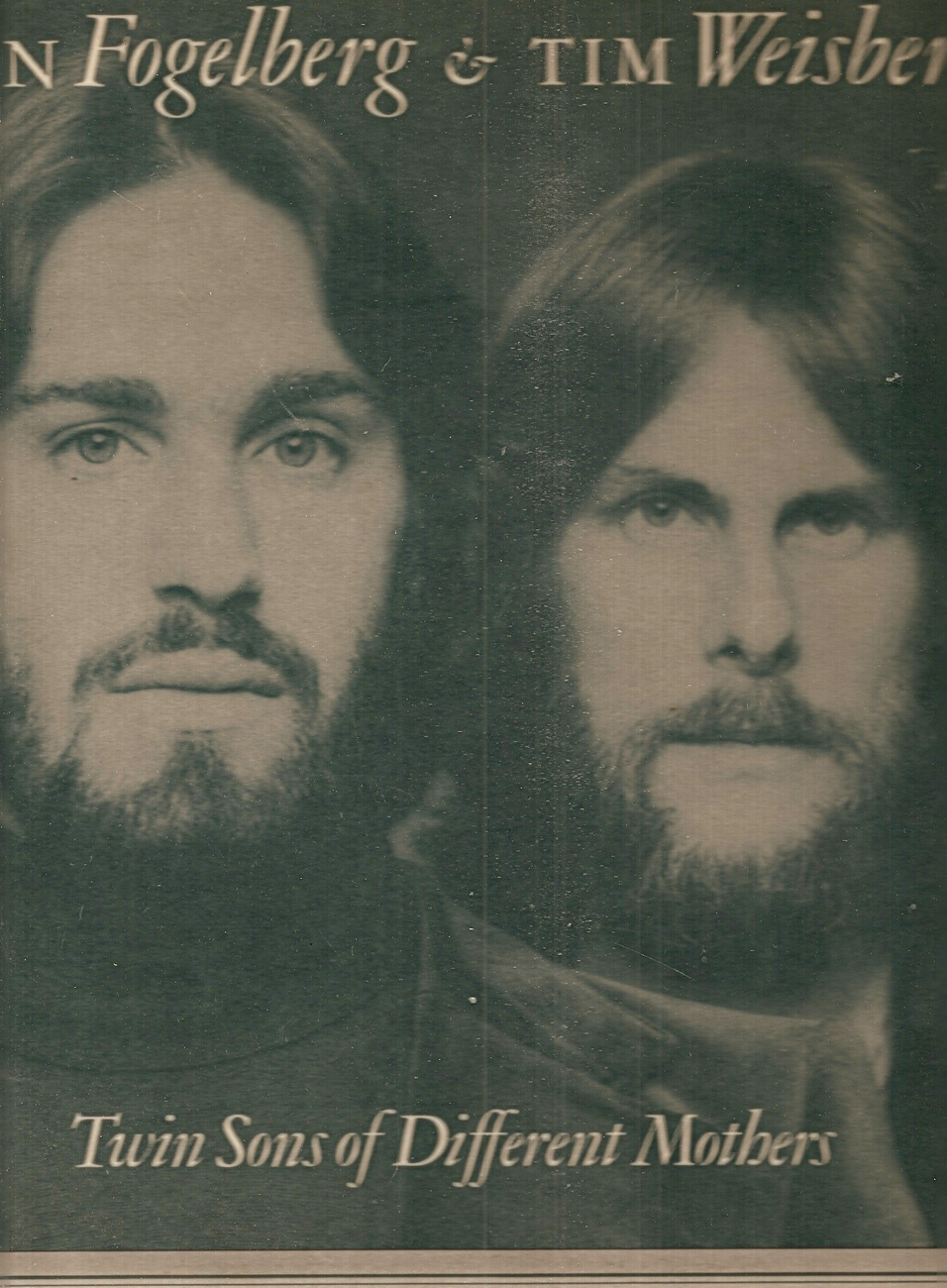 Primary image for LP--Fogelberg, Dan & Tim Weisbert 	Twins Sons Of Different Mothers