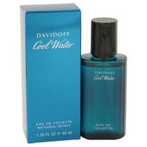 COOL WATER by Davidoff Eau De Toilette Spray 1.35 oz for Men #402077 - $26.34