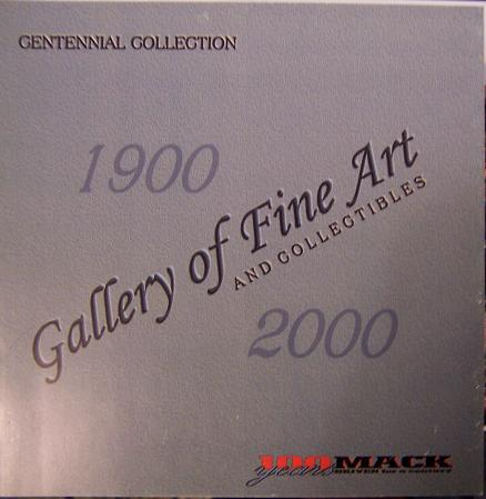 2000 Mack Centennial Collection Art & Collectibles Brochure