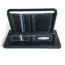 Rolodex Black Metal Business Card Holder Office Desk Stand Organizer - $13.15