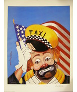 "Art Print By: Red Skelton ""Freddie At Your Service""  Limited Edition  (S... - $539.89"