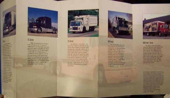 1995 Mack Full Line Folding Brochure - Full Color