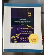 Essentials of Contemporary Management 3rd Edition Jones George Intl Ed P... - $19.99