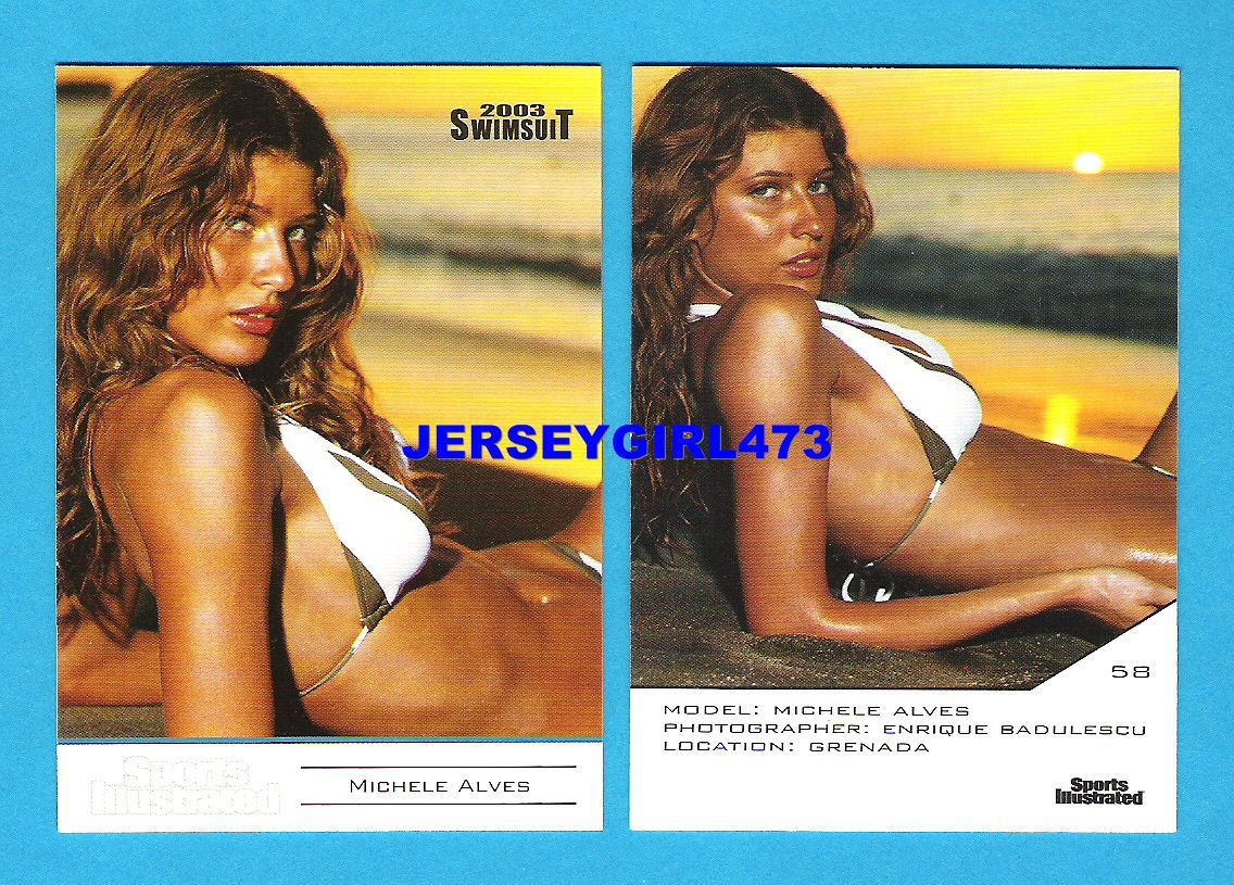 Michelle Alves 2003 Sports Illustrated SI Swimsuit Error Card #58
