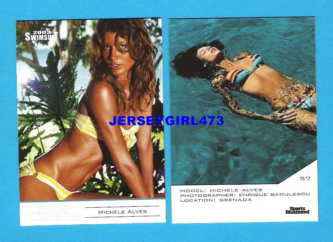 Michelle Alves 2003 Sports Illustrated SI Swimsuit Error Card #57