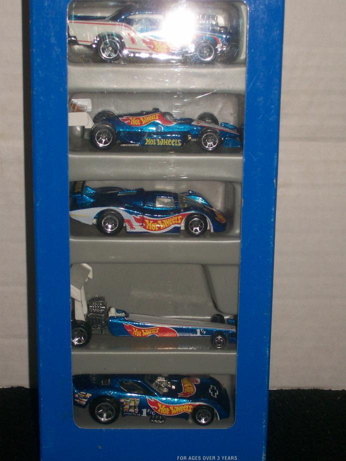 Hot Wheels Race Team 1995-96  5 Gift Set