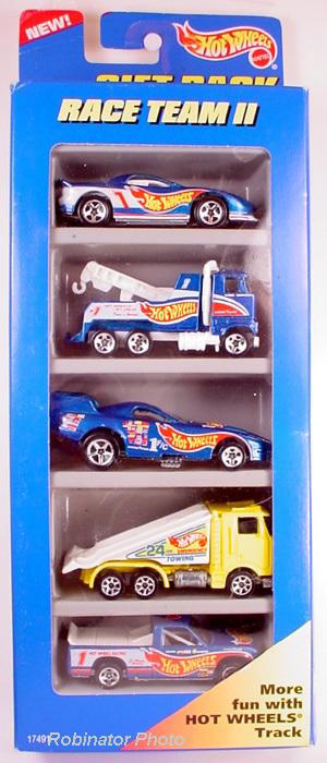 Hot Wheels Racing Team II 1996   5 Gift Pack