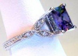 Ring blue princess side thumb200