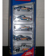 Hot Wheels Race Team lll  1997   5 Gift Pack - $10.00