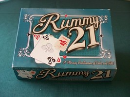 Rummy 21 Card And Tile Game Winning Moves 2001 Complete VGC - $8.50