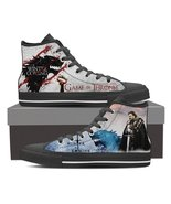 Game of Thrones #1 - Canvas Printed Shoes - $49.99+