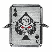 Us Army 1st Special Forces Group Oda -161 Military Patch - Ace Of Spades - $11.87