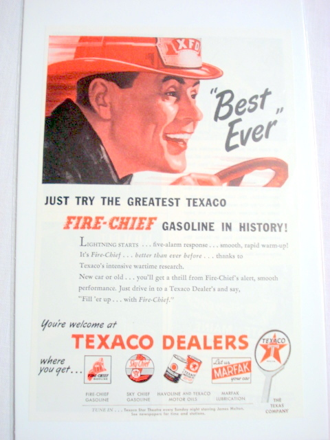 Texaco Ad (1940s): 55 listings