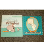 2 Dilbert Books by Scott Adams Shave the Whales - $2.00