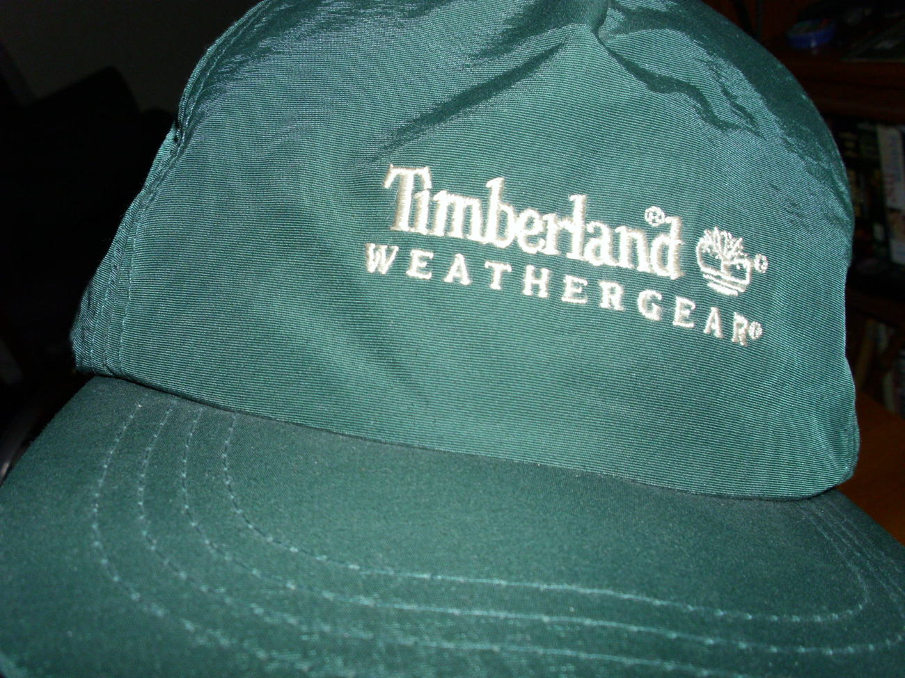 TIMBERLAND Weathergear   Adult green baseball cap - One size fits all