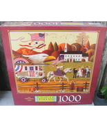 "Charles Wysocki's Americana 1000 Pc Puzzle "" Patriot's Day "" Factory Sealed - $15.00"