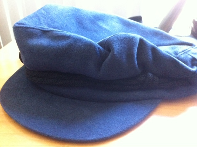 Mj navy hat front