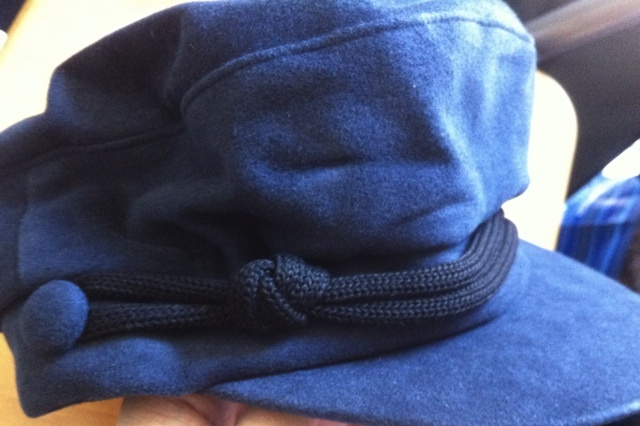 MARC JACOBS navy blue nautical unisex HAT CAP NEW NWT RARE!