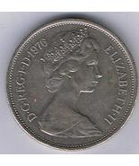 10 New Pence, Elizabeth II, Great Britain Date 1976 - $1.50